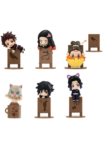 OCHATOMO Series MEGAHOUSE Demon Slayer (Set of 6 Characters)