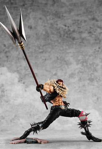 "ONE PIECE MEGAHOUSE P.O.P ""SA-MAXIMUM""KATAKURI"