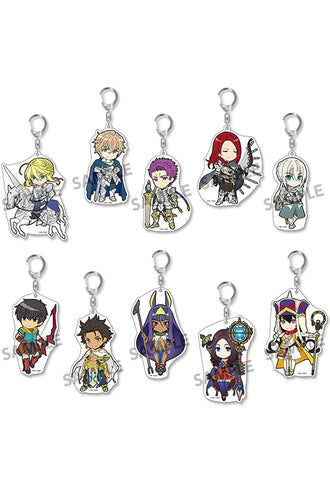 Fate/Grand Order HOBBY STOCK Pikuriru! Fate/Grand Order Trading Acrylic Keychain vol.6 (Set of 10 Characters)