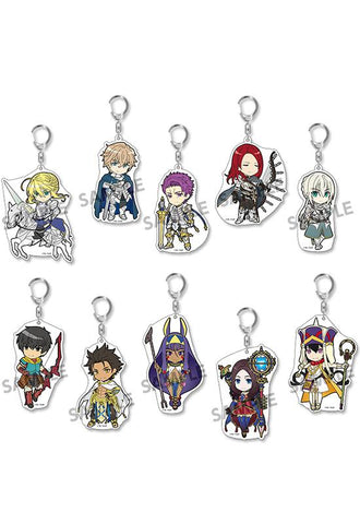 Fate/Grand Order HOBBY STOCK Pikuriru! Fate/Grand Order Trading Acrylic Keychain   vol.6 (re-run)(Set of 10 Characters)