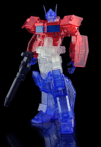 TRANSFORMERS Flame Toys Furai Model Optimus Prime (Clear ver.)