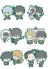 GINTAMA MEGAHOUSE RUBBER MASCOT BUDDYCOLLE GINTAMA HIJIKATA SP (Box of 6)