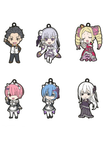 Re:Zero - Starting Life in Another World Good Smile Company Nendoroid Plus Collectible Keychains (Set of 6 Characters)