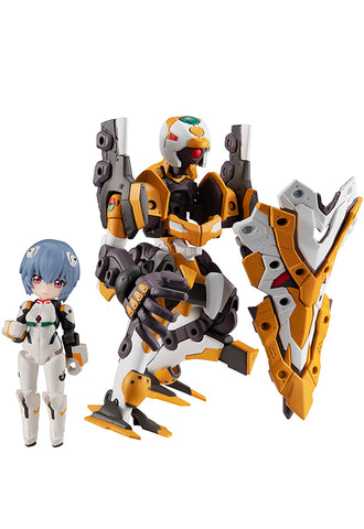DESKTOP ARMY MEGAHOUSE EVA Movie Ayanami Rei & Evangelion No. 0 (Kai)