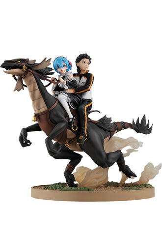 Re:ZERO -Starting Life in Another World- KADOKAWA Rem & Subaru: Attack on the   White Whale Ver.