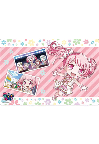 BanG Dream! Garupa☆Pico Bushiroad Rubber Play Mat Collection Vol.398 BanG Dream! Garupa☆Pico『Aya Maruyama』