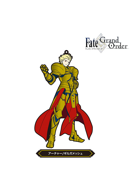 Fate/Grand Order FREEing Fate/Grand Order Rubber strap Archer/Gilgamesh