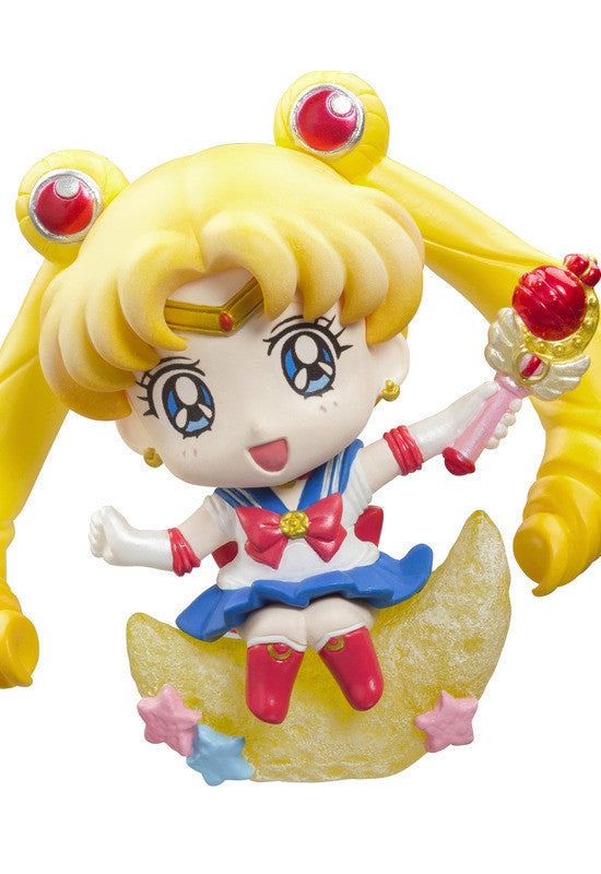 Petit Chara Land Pretty Soldier Sailor Moon Make up with Candy! (Set of 6