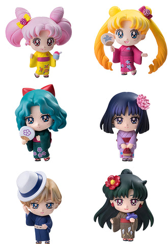 SAILOR MOON MEGAHOUSE PETIT CHARA SOLDIERS OF THE OUTER SOLAR SYSTEM