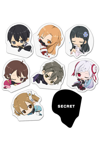 SWORD ART ONLINE THE MOVIE -Ordinal Scale- Genco Magnet clip Collection (Set of 8 Characters)