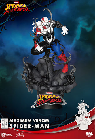 MAXIMUM VENOM Beast Kingdom SPIDER MAN