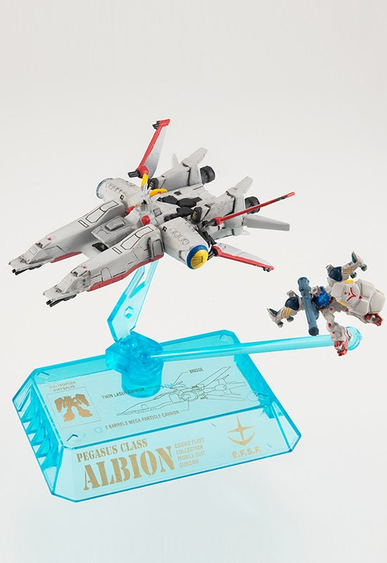 COSMO FLEET COLLECTION MOBILE GUNDAM 0083 STARDUST MEMORY MEGAHOUSE Albion