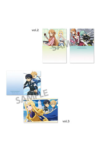 SWORD ART ONLINE ALICIZATION HOBBY STOCK SWORD ART ONLINE ALICIZATION Clear Document Folder Set vol.2&vol.3