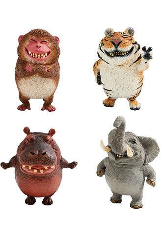 ANIMAL LIFE UNION CREATIVE Chubby Series Say Cheese (1 Random Blind Box)