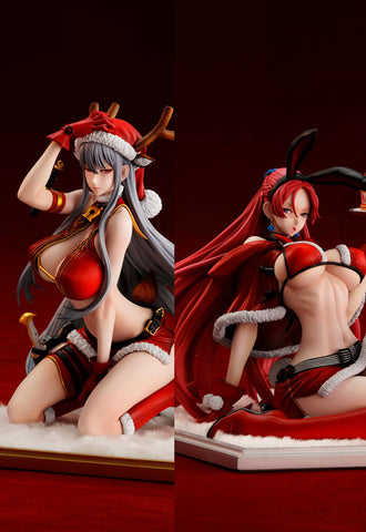 Valkyria Chronicles DUEL Vertex Selvaria Bles/Juliana Everhart -X'mas Party SET-
