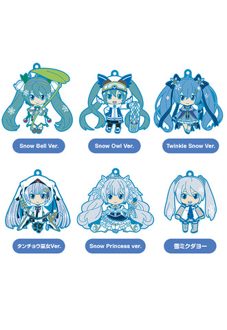 Character Vocal Series 01: Hatsune Miku Good Smile Company Snow Miku Nendoroid Plus Collectible Keychains Vol.2(Set of 6 Characters)