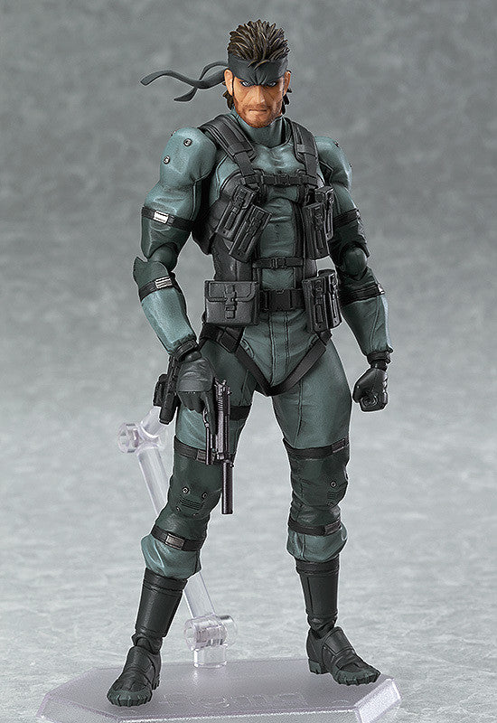 243 METAL GEAR SOLID 2: SONS OF LIBERTY figma Solid Snake: MGS2 ver.(re-run)
