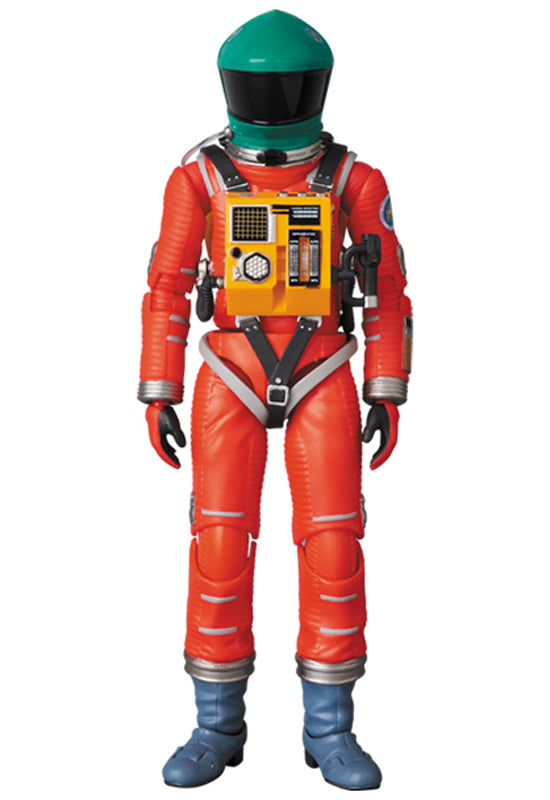 2001 a Space Odyssey MAFEX Space Suit Green Helmet & Orange Suit