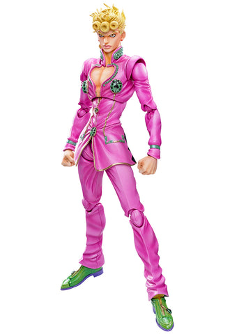 JoJo's Bizarre Adventure MEDICOS Super Action Statue Giorno Giovanna (Reproduction)