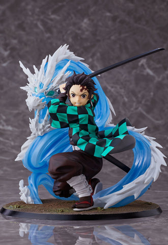 DEMON SLAYER: KIMETSU NO YAIBA Aniplex TANJIRO KAMADO 1/8 SCALE FIGURE DELUXE VERSION CONSTANT FLUX