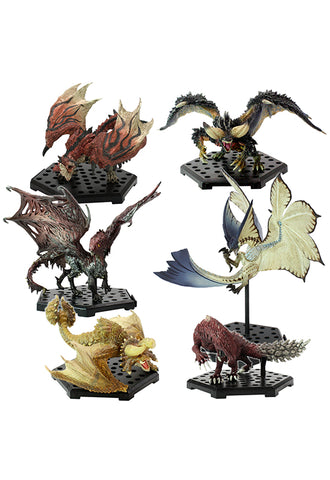 MONSTER HUNTER CAPCOM CFB Monster Hunter Standard Model Plus THE BEST Vol.9・10・11 (Set of 6 Characters)