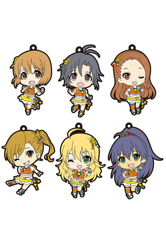 THE IDOLM@STER PLATINUM STARS FREEing SIDE B Trading Rubber Straps (8 Random Blind Box)