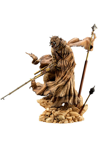 STAR WARS : A NEW HOPE Kotobukiya ARTFX ARTIST SERIES TUSKEN RAIDER BARBARIC DESERT TRIBE
