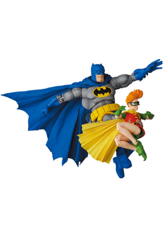 The Dark Knight Returns MEDICOM TOYS MAFEX BATMAN BLUE Ver. & ROBIN