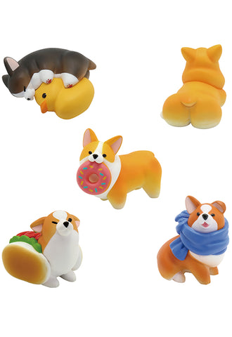 ANIMAL LIFE UNION CREATIVE The Daily Corgi (Box of 6 Blind Box)