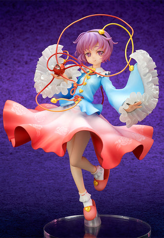 Touhou Project QUES Q The Girl Even Vindictive Spirits Fear Satori Komeiji