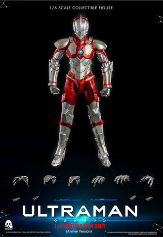 ULTRAMAN threezero ULTRAMAN SUIT Anime Version 1/6