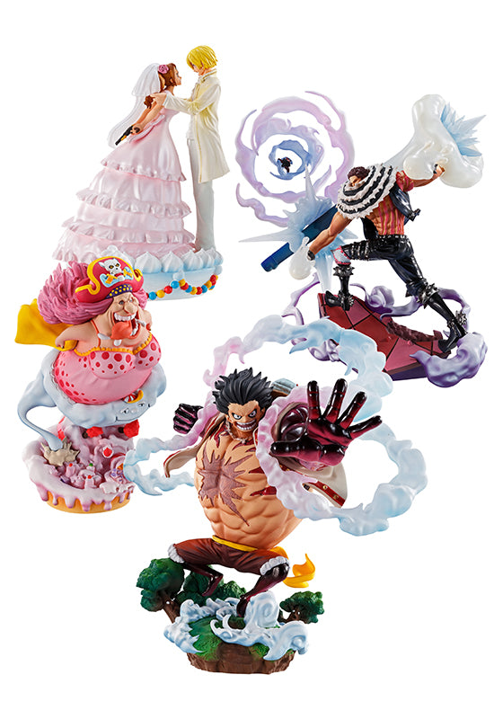 ONE PIECE MEGAHOUSE LOG BOX RE BIRTH LIMITED BOX SET  WHOLE CAKE ISLAND Ver.