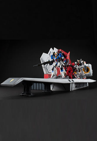 Realistic Model Series MEGAHOUSE Mobile Suit Z Gundam ARGAMA Catapult Deck for 1/144 HGUC
