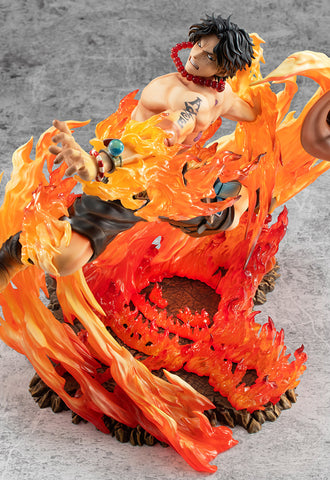 "ONE PIECE MEGAHOUSE Portrait.Of.Pirates ""NEO-MAXIMUM"" PORTGAS・D・ACE 15 th LIMITED Ver."