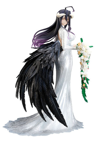 OVERLOADⅢ FURYU Corporation Albedo -Wedding Dress- 1/7 Scale Figure
