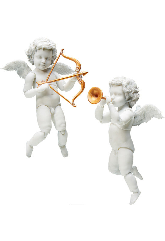 SP-076 The Table Museum FREEing figma Angel Statues (Re-run)