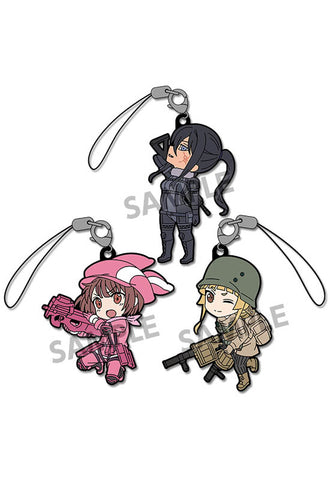 Sword Art Online Alternative Gun Gale Online HOBBY STOCK  Pikuriru! Sword Art Online Alternative Gun Gale Online Rubber Strap Set