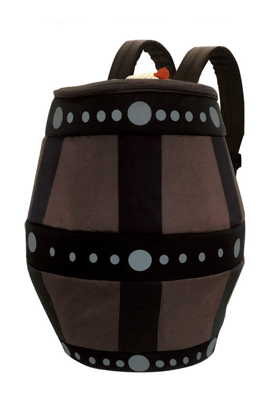 MONSTER HUNTER CAPCOM MH Large Barrel Bomb-shaped backpack