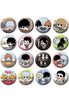 GINTAMA MEGAHOUSE BUTTON BADGE COLLECTION (1 Random Blind Badge)