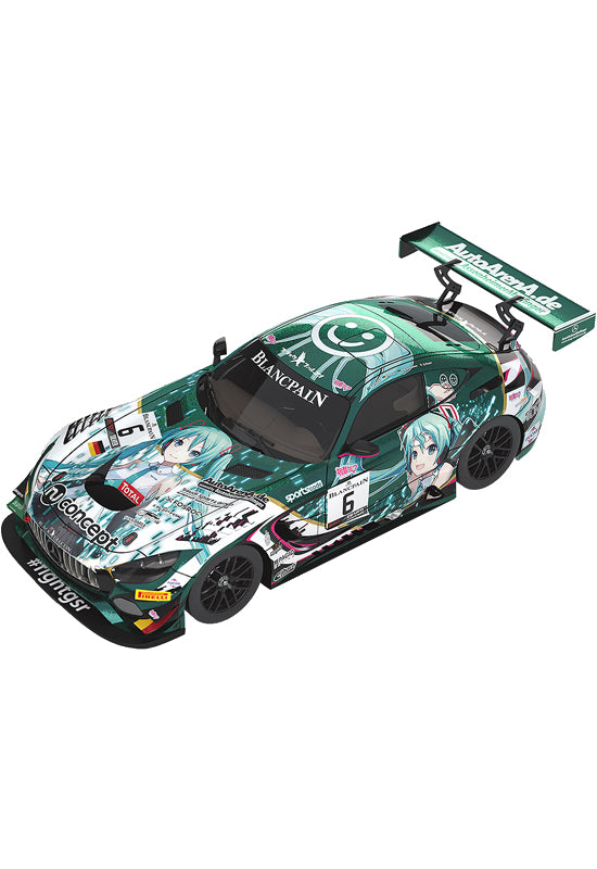 Character Vocal Series 01: Hatsune Miku GOODSMILE RACING 1/43rd Scale #6 Mercedes-AMG Team Black Falcon 2019 SPA24H Ver.