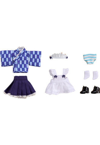 Nendoroid Doll Good Smile Company Nendoroid Doll: Outfit Set (Japanese-Style Maid - Blue)