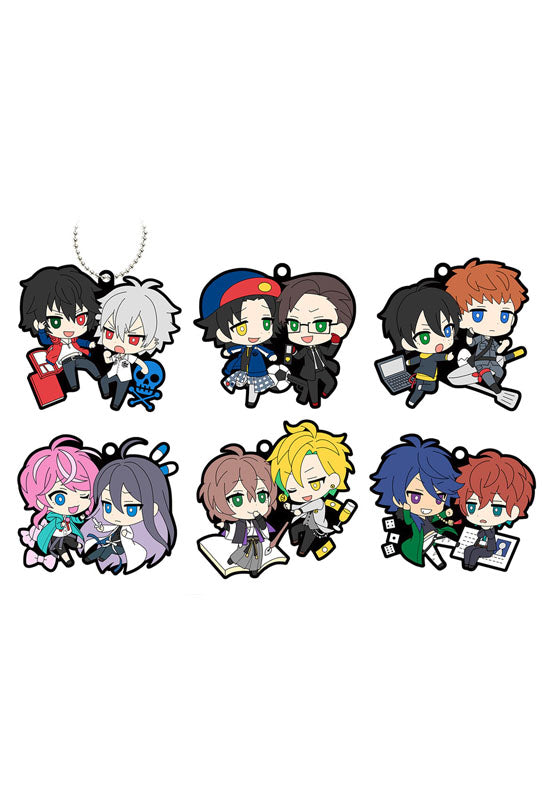 RUBBER MASCOT MEGAHOUSE RUBBER MASCOT BUDDYCOLE Hypnosis Mic Division Rap Battle-VS Ver. (Set of 6 Characters)