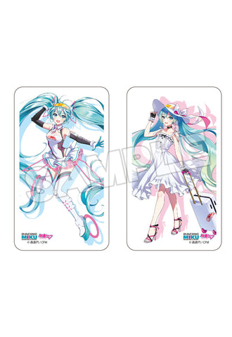 Hatsune Miku GT Project SHINE Mask Case: Racing Miku 2021 Ver. 001