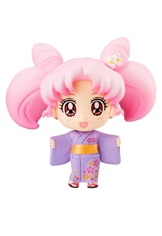 SAILOR MOON MEGAHOUSE PETIT CHARA!  CHIBI- USAGI YUKATA VERSION