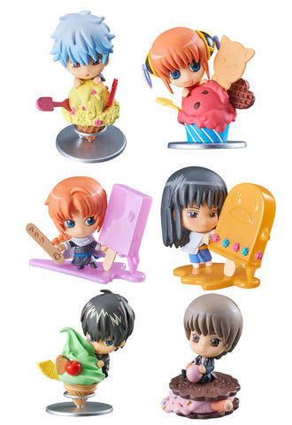 GINTAMA MEGAHOUSE PETIT CHARA ICE CREAM FRUIT PARADISE☆ (1 Random Blind Box)
