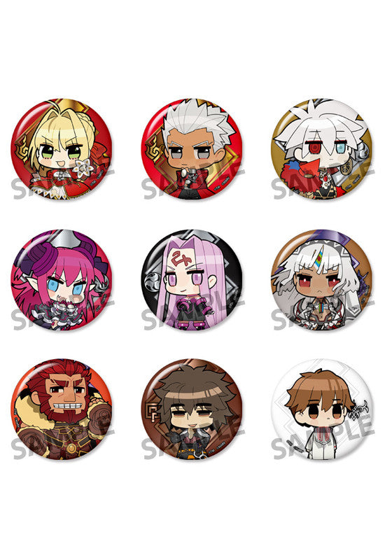 Fate/EXTELLA HOBBY STOCK Fate/EXTELLA Can Badge Collection vol.1 (1 Random Blind Box)