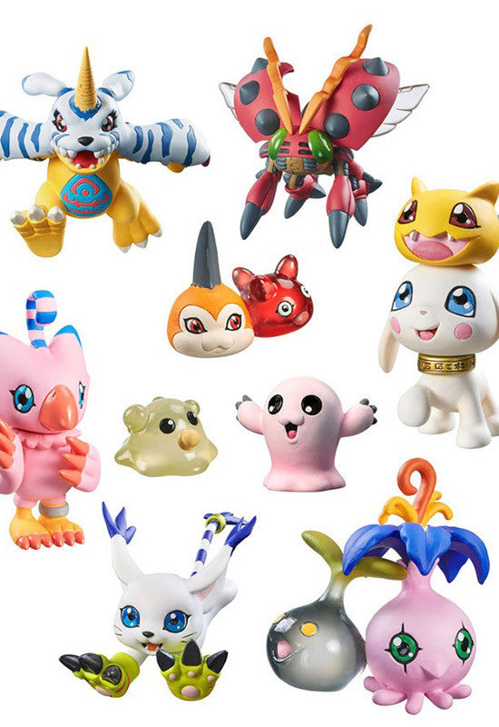 Digimon Adventure MEGAHOUSE DIGI COLLE DATA 02(3rd Repeat)(Box of 8)