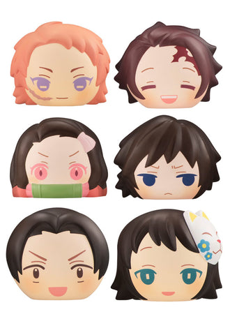 DEMON SLAYER MEGAHOUSE FLUFFY SQUEEZE BREAD Vol.4 (Set of 6 Characters)
