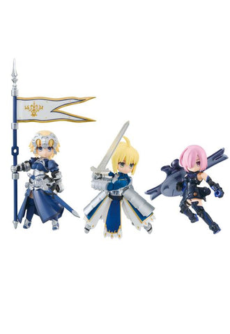 DESKTOP ARMY MEGAHOUSE Fate/Grand Order Vol.1 Mash/Altria/Jeanne (repeat)(Set of 3 Characters)