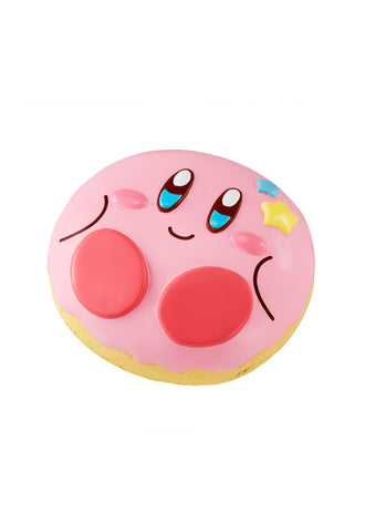 KIRBY SUPER STAR MEGAHOUSE FLUFFY SQUEEZE DONUT SHOP KIRBY